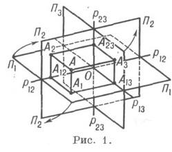 Начертательная геометрия курсовые